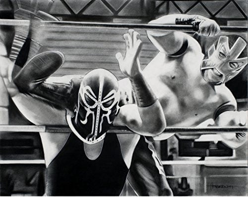 Load image into Gallery viewer, Lucha Libre Print