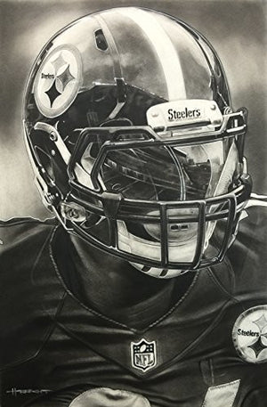 Pittsburgh Steelers Helmet Print