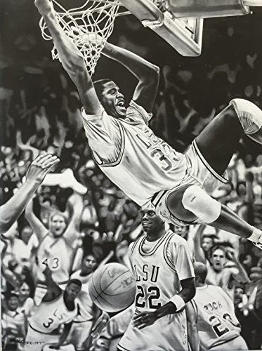 Load image into Gallery viewer, Shaq LSU Print