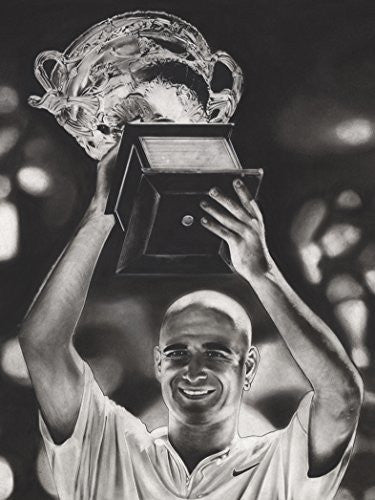Load image into Gallery viewer, Andre Agassi Print