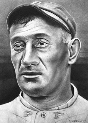 Load image into Gallery viewer, Honus Wagner Print