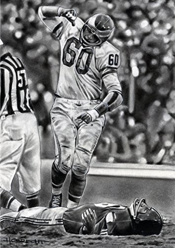 Load image into Gallery viewer, Chuck Bednarik Print