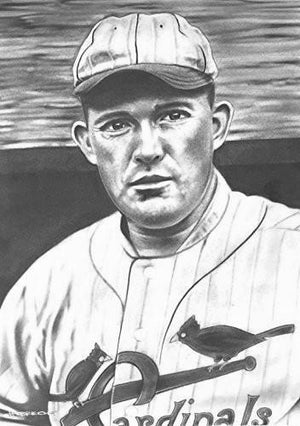 Rogers Hornsby Print