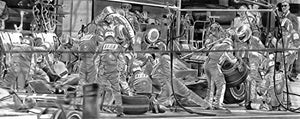 Load image into Gallery viewer, Ferrari Pit (Formula 1) Print