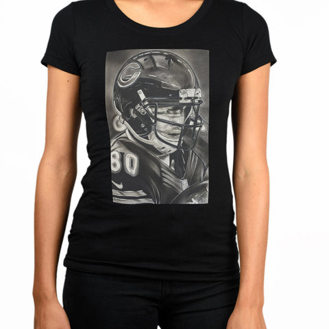 Chicago Bears Helmet Womens T-Shirt