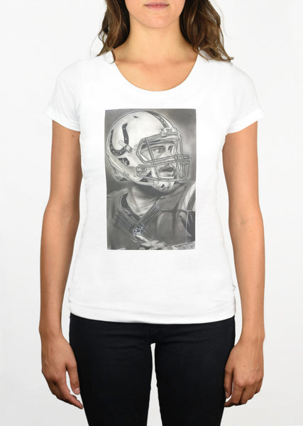 Indianapolis Colts Helmet Womens T-Shirt