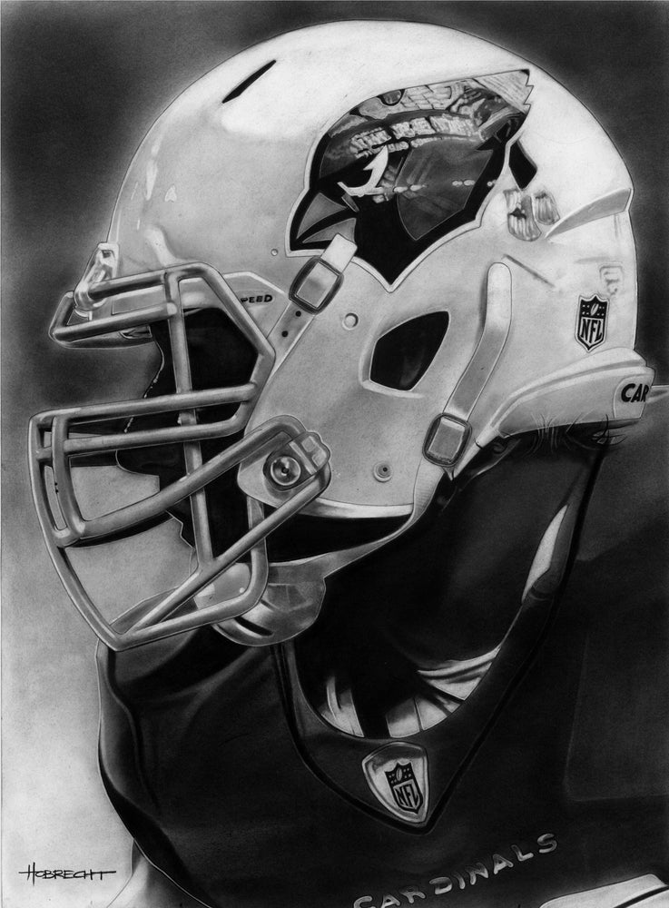 Arizona Cardinals Helmet 1 Print