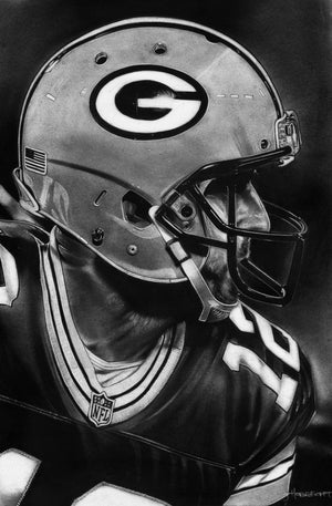 Load image into Gallery viewer, Aaron Rodgers Print