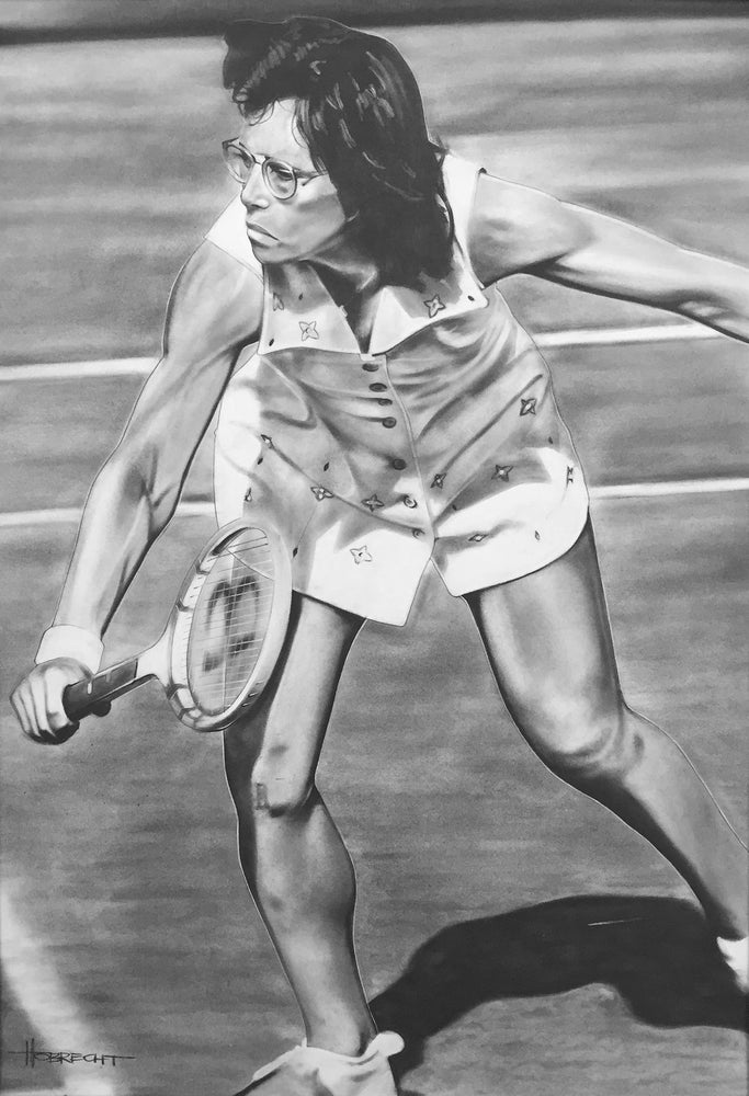 Billie Jean King Print