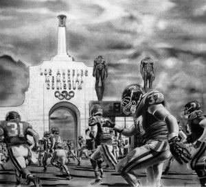 Load image into Gallery viewer, USC Coliseum Print