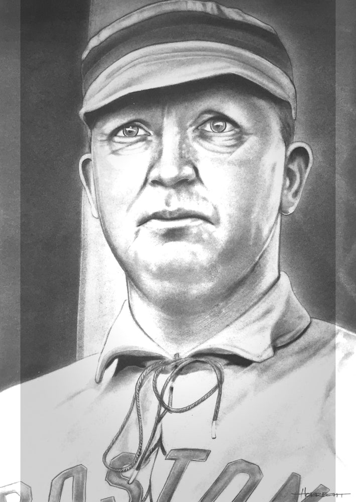 Load image into Gallery viewer, Cy Young Boston Print