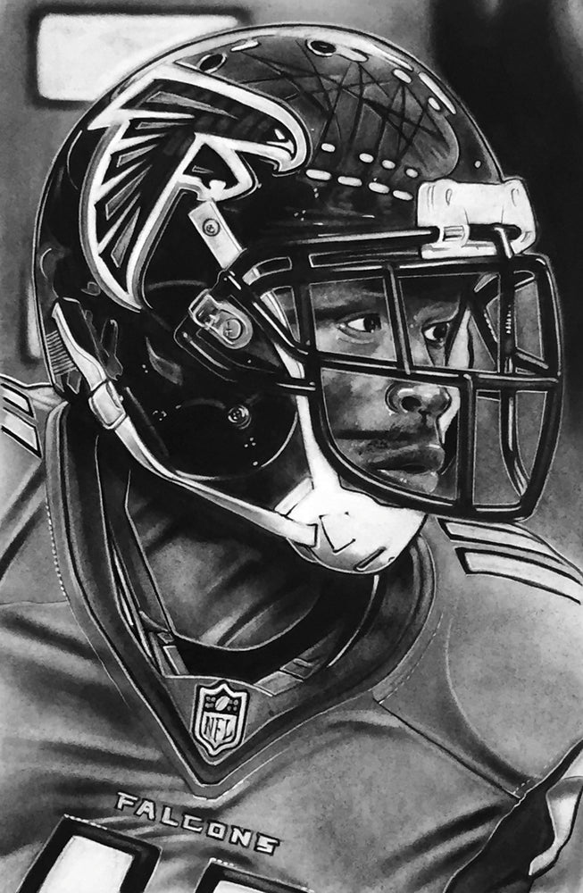 Load image into Gallery viewer, Atlanta Falcons Helmet Print