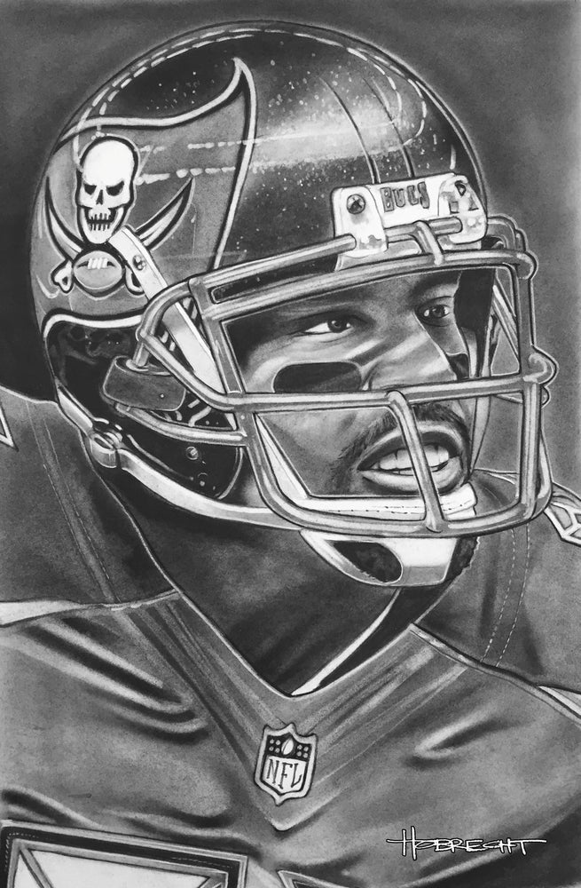 Load image into Gallery viewer, Tampa Bay Buccaneers Helmet Print