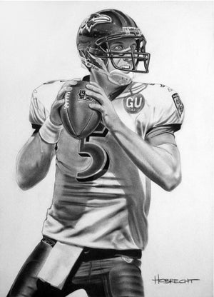 Load image into Gallery viewer, Joe Flacco Print