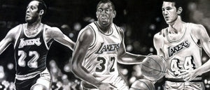 Lakers Legends Print