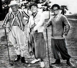George Lopez, Cedric The Entertainer, DL Hughely Golf Print