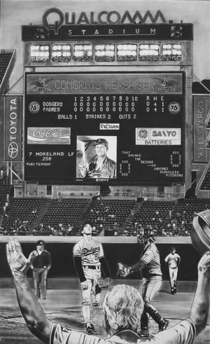 Load image into Gallery viewer, 59 Scoreless (Orel Hershiser)