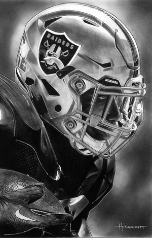 Load image into Gallery viewer, Raiders Helmet Print