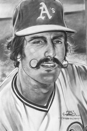 Rollie Fingers Print