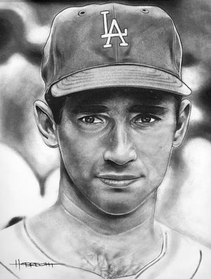 Load image into Gallery viewer, Koufax Portrait