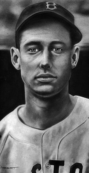 Load image into Gallery viewer, Ted Williams Rookie Print