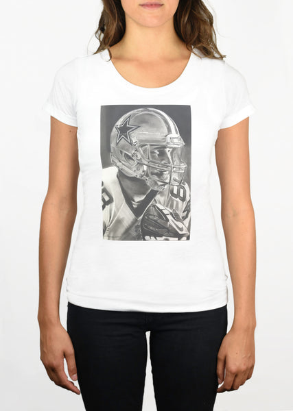 Cowboys Helmet Womens T-Shirt