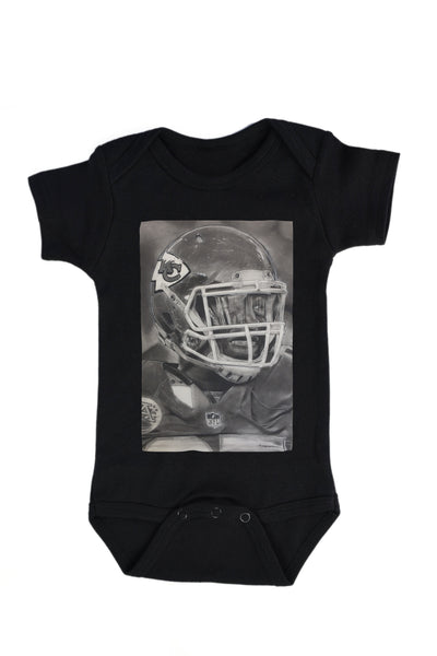 Kansas City Chiefs Helmet Onesie