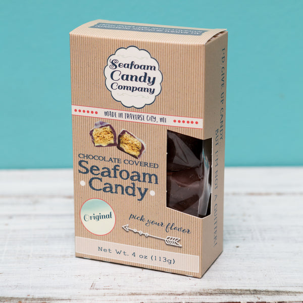Original Chocolate Covered Seafoam Candy