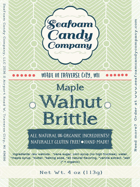 Maple Walnut Brittle