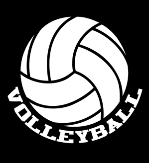 Volleyball Window Decal - VB