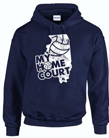 MY HOME COURT IL - Hooded Sweatshirt