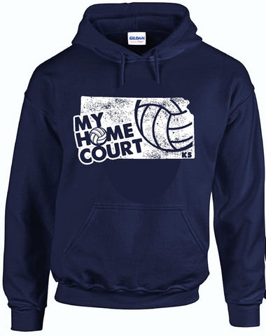 MY HOME COURT KS - Hooded Sweatshirt