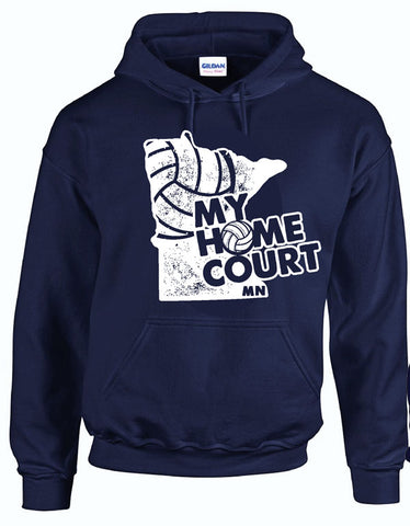 MY HOME COURT MN - Hooded Sweatshirt
