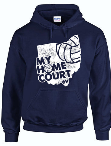 MY HOME COURT OH - Hooded Sweatshirt