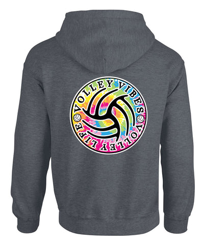 TIE-DYE VB VIBES - Hooded Sweatshirt