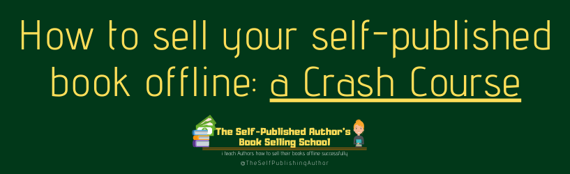 Learn how to sell your self-published book offline in this easy to follow step-by-step guide. Tap into my 8+ years of experience selling over 43,000 copies of my books in-stores offline.