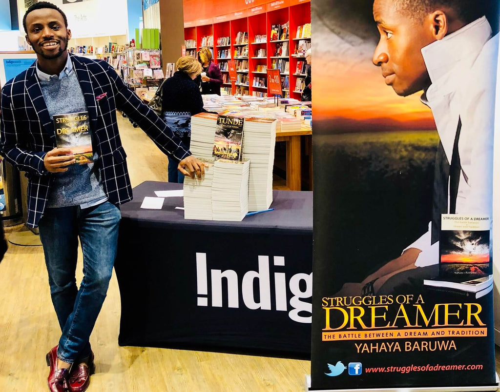 Yahaya Baruwa, author of Inspirational books, the Struggles of a Dreamer trilogy