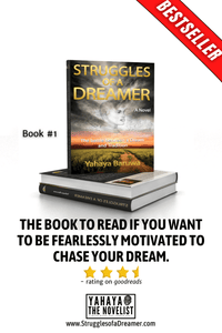 Inspirational fiction book Struggles of a dreamer  by Yahaya Baruwa