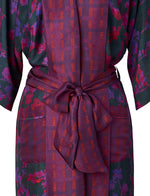 Silk Brambles Border Robe