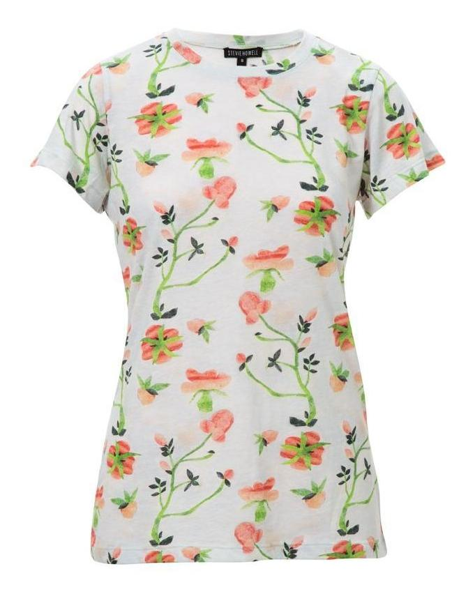 Blaise Dianthus Cotton T-Shirt (Large)