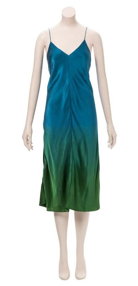 Green/Blue Ombre Devon Slip (Medium)