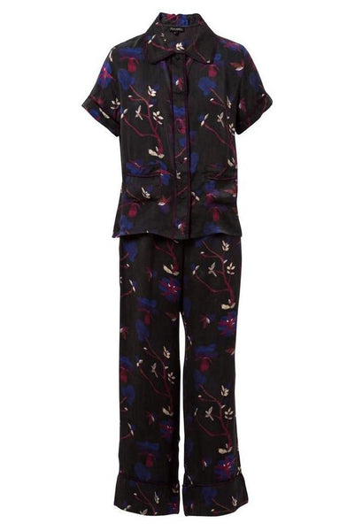 Dianthus Silk Liam Long Pajama Set