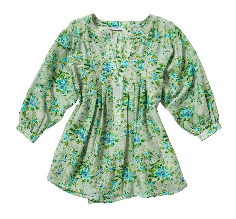 Alice Celandine Cotton/Silk Top (S/M)