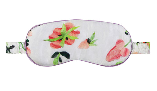 Dianthus Rose Eye Mask