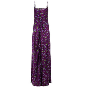 Lavandin Purple Extra Long Devon Slip