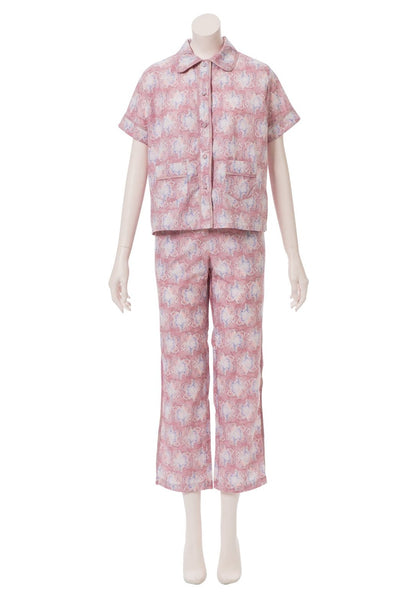 Alastair Orchid Blush Cotton Pajama Set