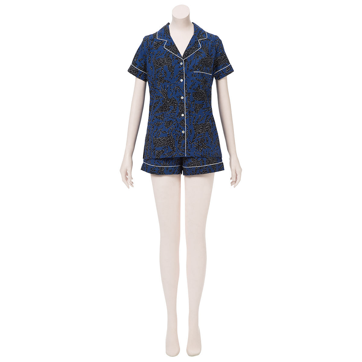 Navy Pajama Set (Size Large)