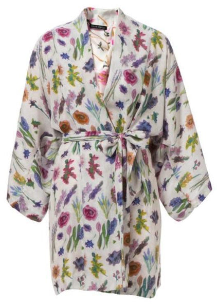 Somerset Silk Robe de Chambre