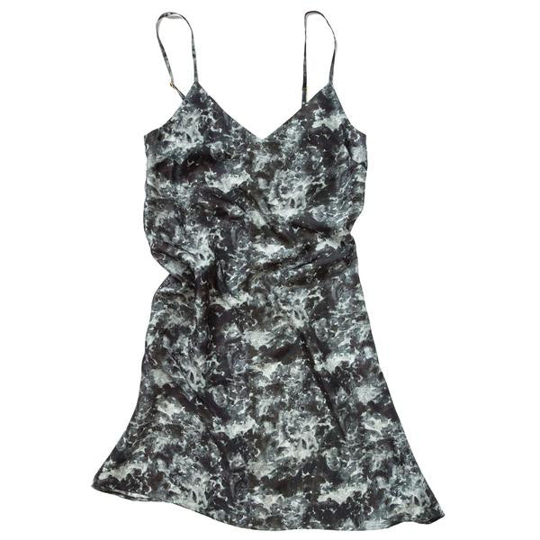 Nightleaf Gray Silk Slip Size LARGE
