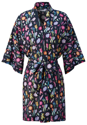 Load image into Gallery viewer, Somerset Cotton/Silk Robe de Chambre